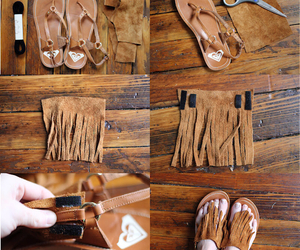 diy, sandals, and tutorial image