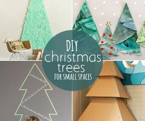 christmas, diy, and trees image