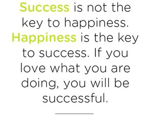 happiness, success, and true image