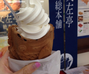 food, ice cream, and japan image