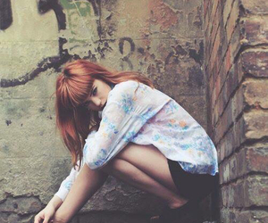 girl, grunge, and photography image