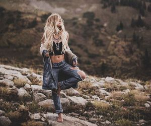 nature, hippie, and indie image