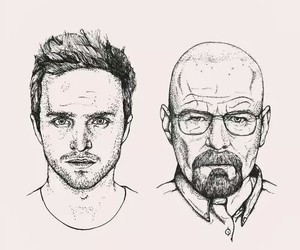art, breaking bad, and drawing image