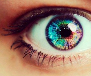 color and eye image