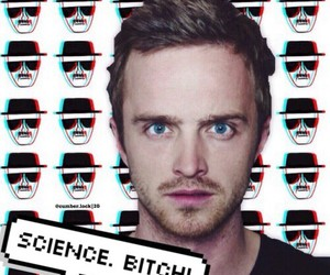 bitch, breaking bad, and science image