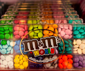 food, m&m's, and candy image