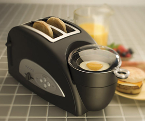 breakfast, food, and toaster image