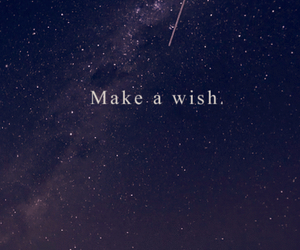 sky, stars, and wish image