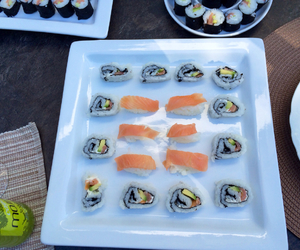 Fisch, sushi, and chinesisch image