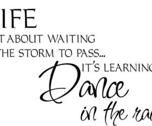 life, dance, and rain image