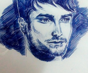 pen, danielradcliffe, and speedsketch image