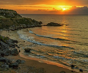 beach, cyprus, and lovely image
