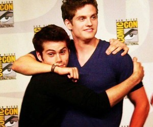 isaac, teenwolf, and stiles image