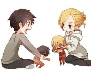 attack on titan, anime, and annie image