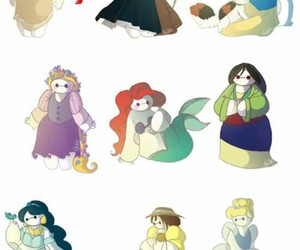 brave, mulan, and crossover image