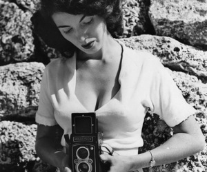 1950s, camera, and photograph image