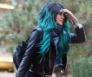 hair, kylie jenner, and style image