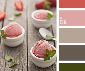 beige, palette, and ice cream image