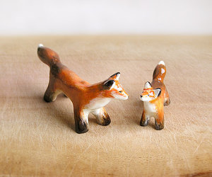 red fox, woodland, and cute fox image