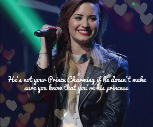 demi lovato, quotes, and love image