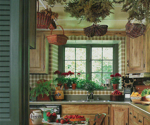 kitchen decor and country cottage image