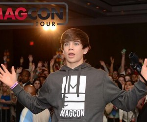 hayes grier, magcon, and hayes image