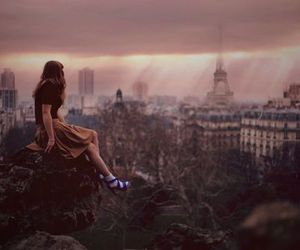 girl, paris, and photography image