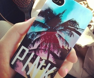 pink, iphone, and summer image
