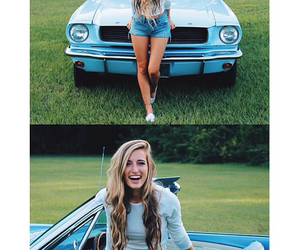 blondie, car, and girl image