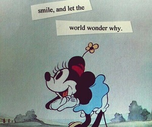 disney, smile, and quotes image