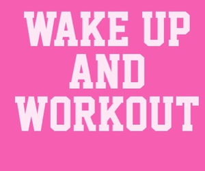 workout, fitness, and pink image