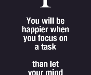 focus, psychology, and quotes image