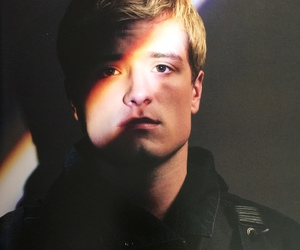 peeta mellark, josh hutcherson, and the hunger games image