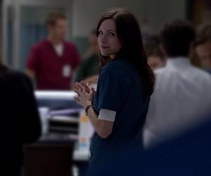 beautiful girl, hospital, and smile image