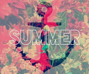 summer and flowers image