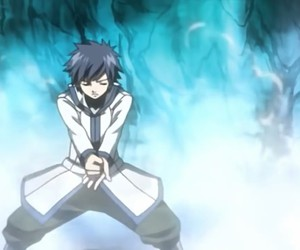 anime, gray fullbuster, and fairytail image