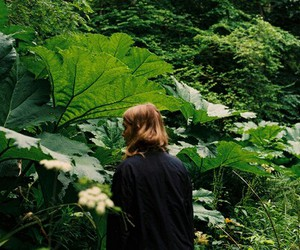 green, girl, and photography image