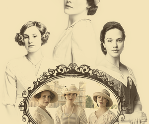 vintage, downton abbey, and michelle dockery image