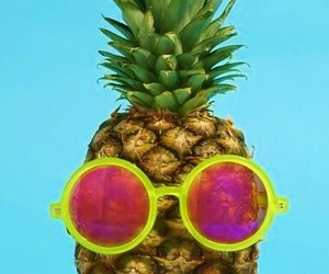 summer, ananas, and pineapple image