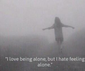 alone, girls, and grunge image