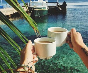 coffee and summer image
