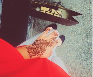 art, henna, and tatto image
