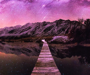 pink and space image