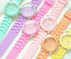 watch and colorful image