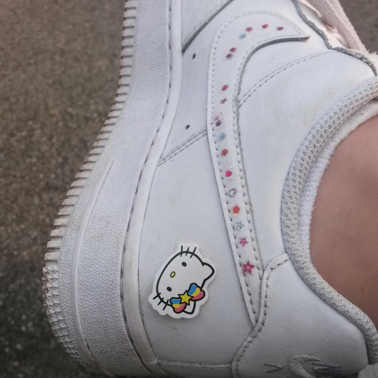 hello kitty and shoes image