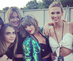 Taylor Swift, kendall jenner, and gigi hadid image