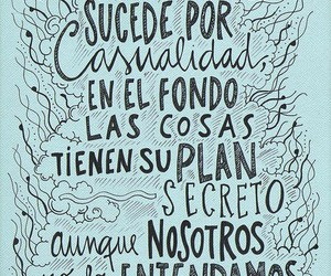 frases, casualidad, and quotes image
