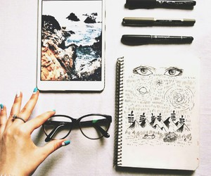 draw, artwork, and sketch image