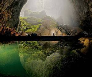 nature, cave, and Vietnam image