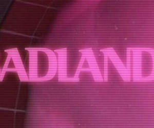 badlands, header, and pink image
